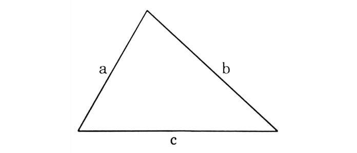 Chu vi hình tam giác
